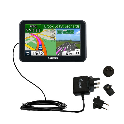 International Wall Charger compatible with the Garmin Nuvi 50 50LM