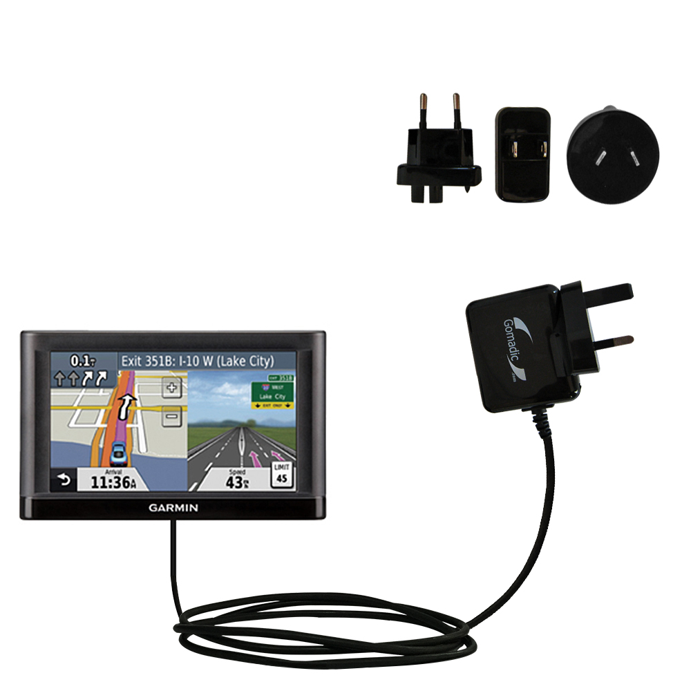 International Wall Charger compatible with the Garmin nuvi 52 / nuvi 54