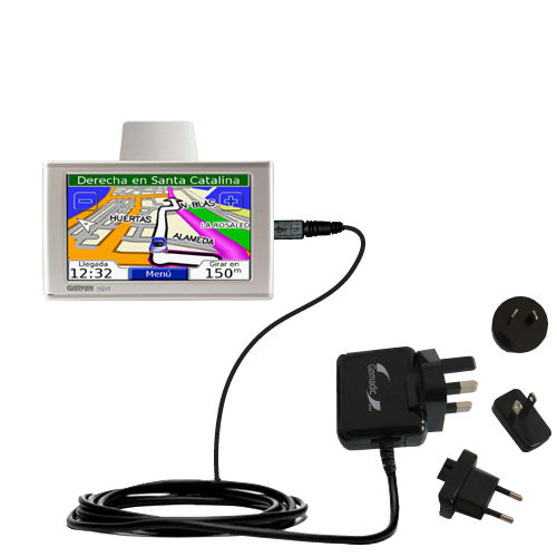 International Wall Charger compatible with the Garmin Nuvi 610