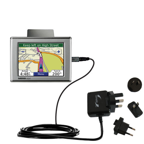 International Wall Charger compatible with the Garmin Nuvi 670