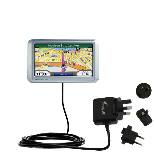 International Wall Charger compatible with the Garmin Nuvi 710