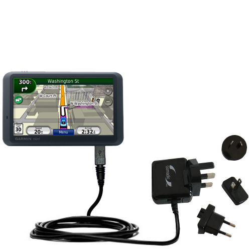 International Wall Charger compatible with the Garmin Nuvi 765T