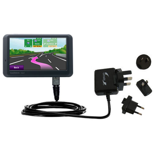 International Wall Charger compatible with the Garmin Nuvi 775TFM