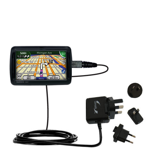 International Wall Charger compatible with the Garmin Nuvi 855