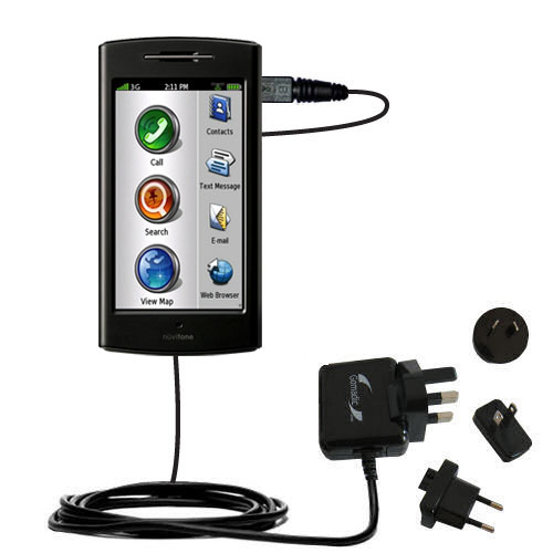International Wall Charger compatible with the Garmin Nuvifone G60