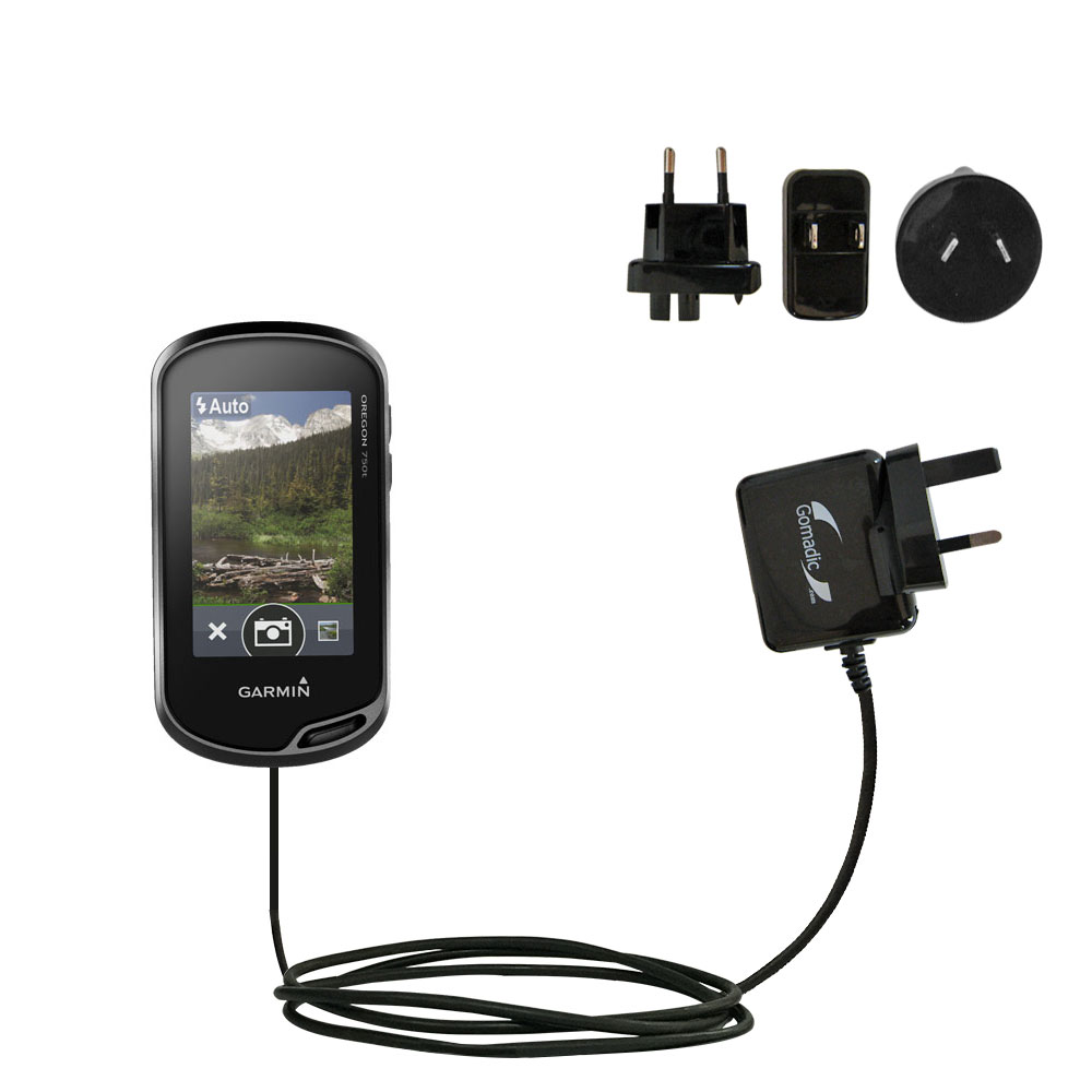 International Wall Charger compatible with the Garmin Oregon 700