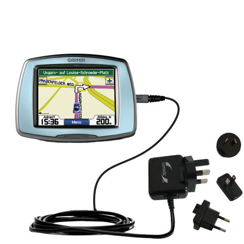 International Wall Charger compatible with the Garmin StreetPilot C530
