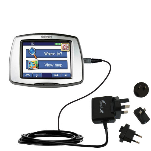 International Wall Charger compatible with the Garmin StreetPilot C550