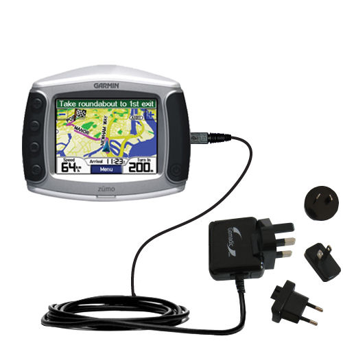 International Wall Charger compatible with the Garmin Zumo 400