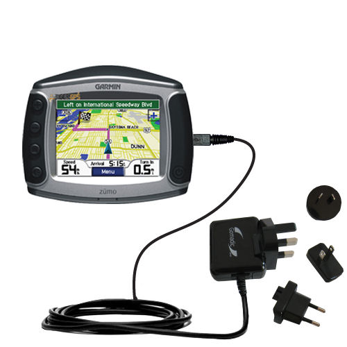 International Wall Charger compatible with the Garmin Zumo 550