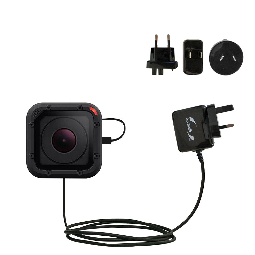 High Capacity Charger That fits in Your Pocket Gomadic Unique Portable Rechargeable Battery Pack Designed for The GoPro HERO5 Black