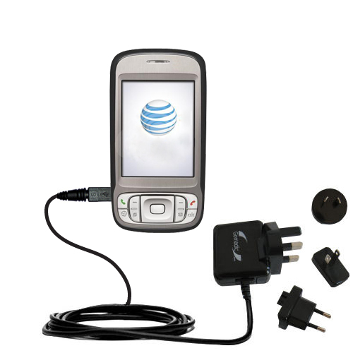 International Wall Charger compatible with the HTC 3G UMTS PDA Phone
