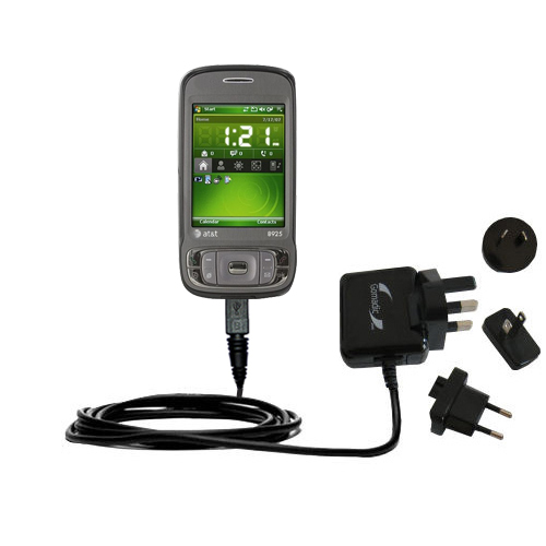 International Wall Charger compatible with the HTC 8925