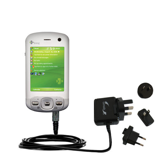 International Wall Charger compatible with the HTC Artemis
