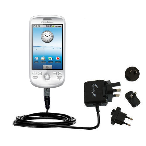 International Wall Charger compatible with the HTC Click