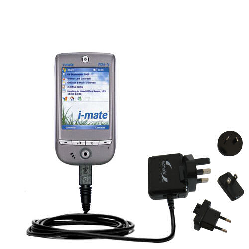 International Wall Charger compatible with the HTC Galaxy