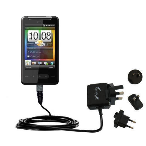 International Wall Charger compatible with the HTC HTC 7 Surround