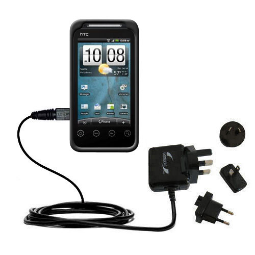 International Wall Charger compatible with the HTC Knight