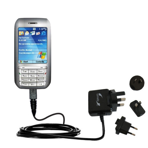 International Wall Charger compatible with the HTC Libra