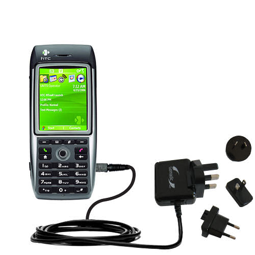 International Wall Charger compatible with the HTC MTeoR