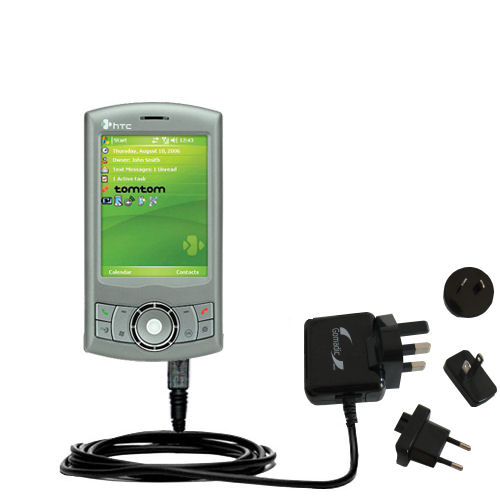 International Wall Charger compatible with the HTC P3300