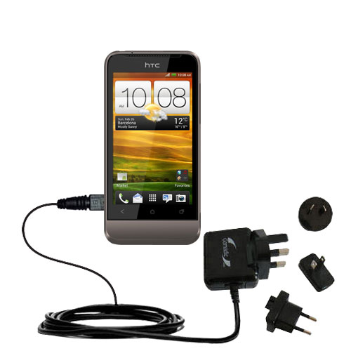 International Wall Charger compatible with the HTC Primo / T320e