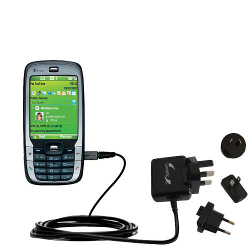 International Wall Charger compatible with the HTC S710