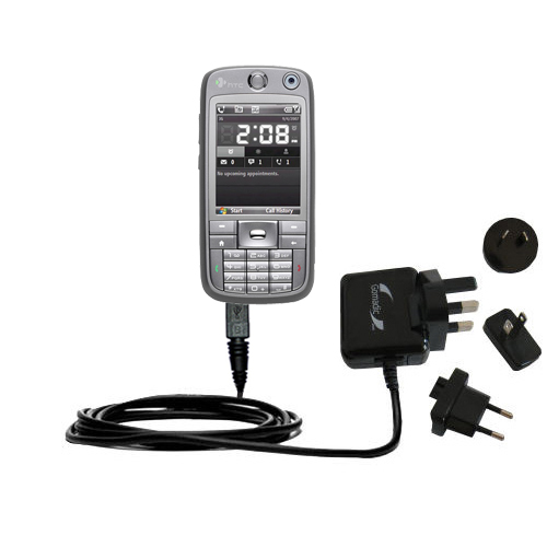 International Wall Charger compatible with the HTC S730