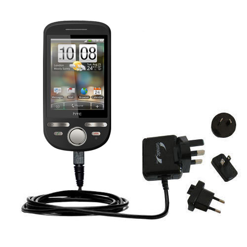 International Wall Charger compatible with the HTC Tattoo