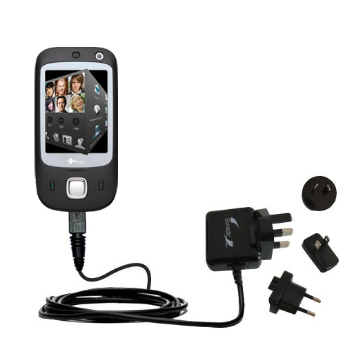 International Wall Charger compatible with the HTC Touch Dual
