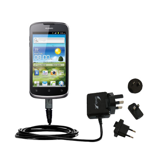 International Wall Charger compatible with the Huawei U8815