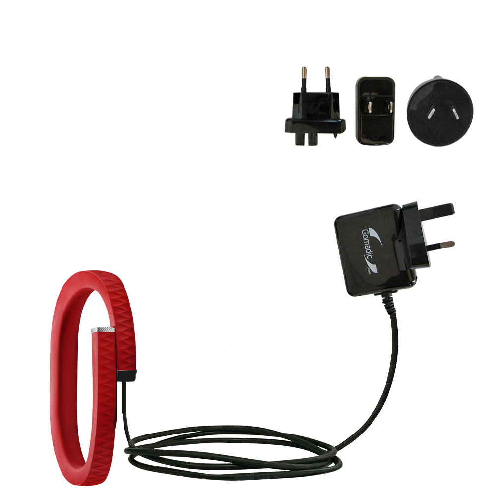 International Wall Charger compatible with the Jawbone UP