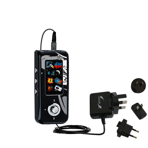 International Wall Charger compatible with the Jens of Sweden MP-450