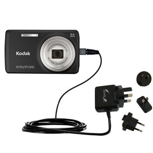 International Wall Charger compatible with the Kodak EasyShare M552