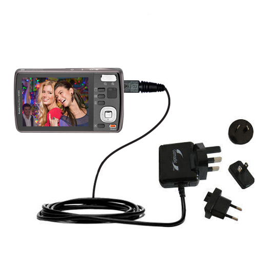 International Wall Charger compatible with the Kodak EasyShare M575