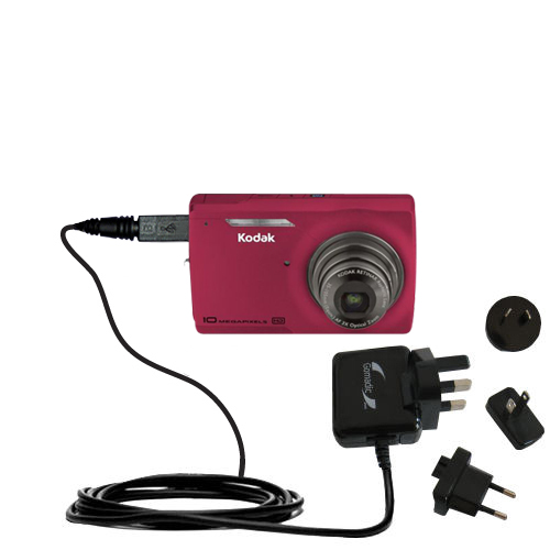 International Wall Charger compatible with the Kodak M1093 IS