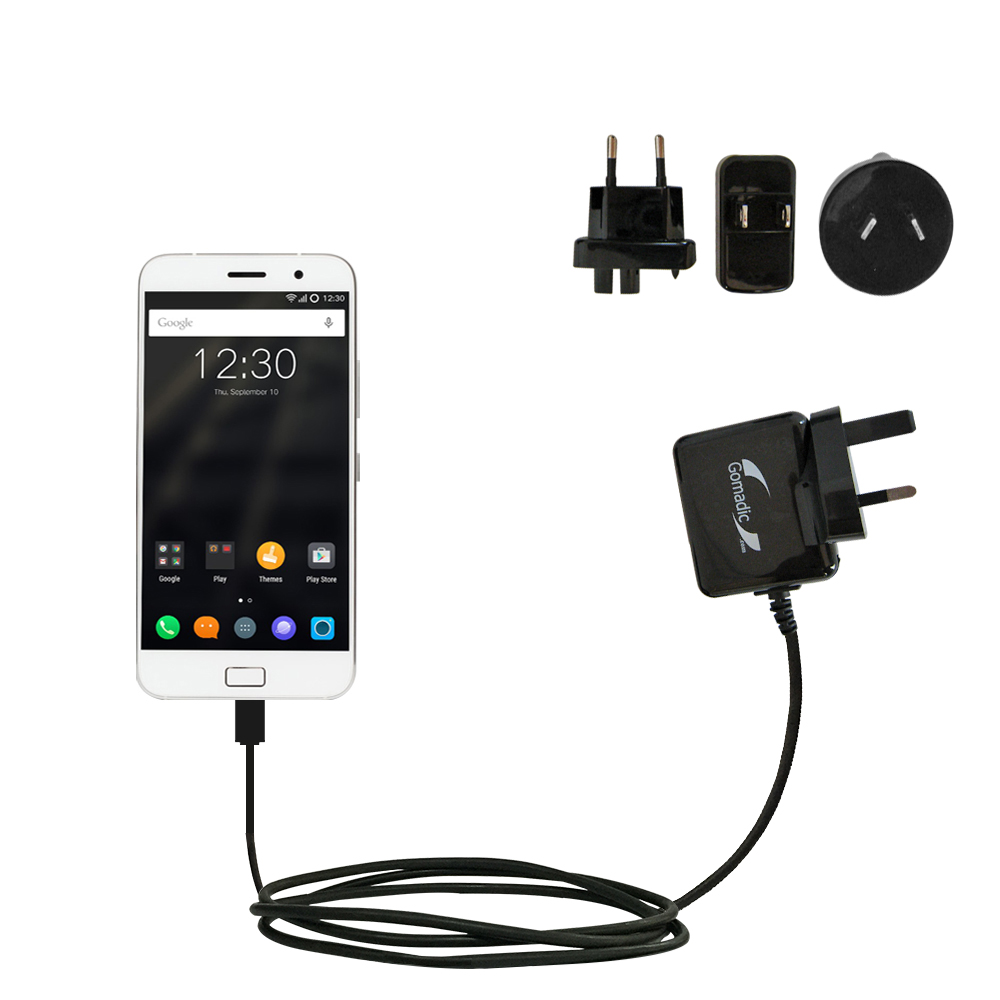 International Wall Charger compatible with the Lenovo ZUK Z1
