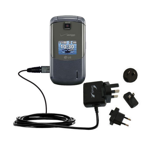 International Wall Charger compatible with the LG Accolade