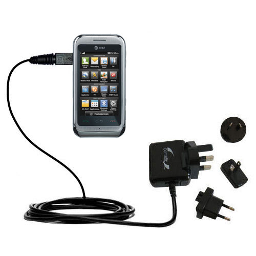 International Wall Charger compatible with the LG Arena