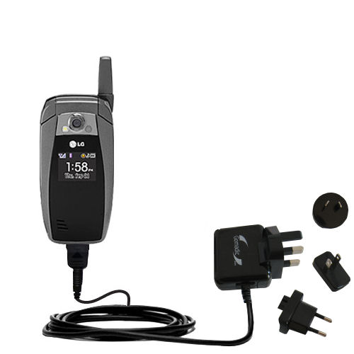 International Wall Charger compatible with the LG AX355