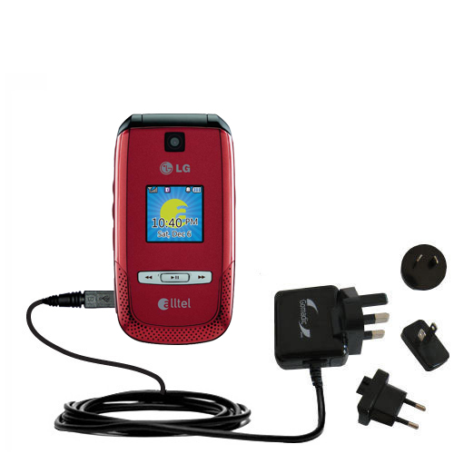 International Wall Charger compatible with the LG AX500
