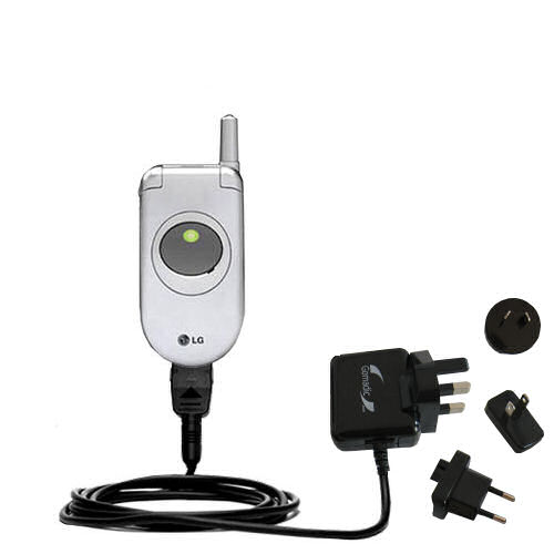 International Wall Charger compatible with the LG C1300i 1300