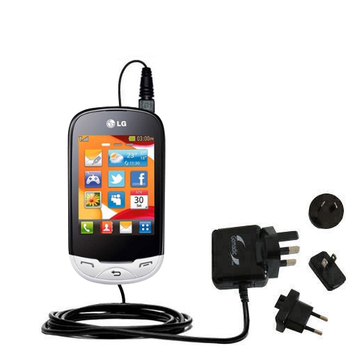 International Wall Charger compatible with the LG EGO Wi-Fi