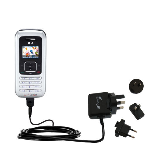 International Wall Charger compatible with the LG EnV