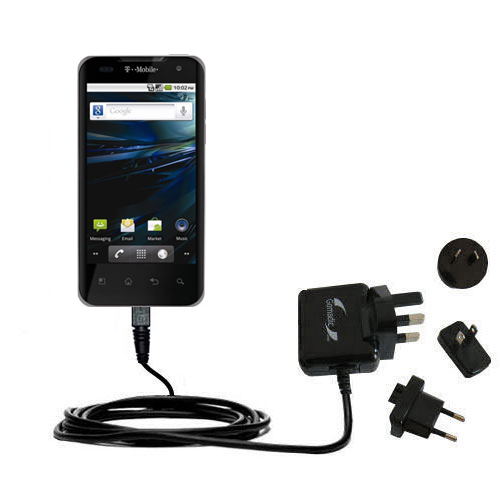 International Wall Charger compatible with the LG G2x