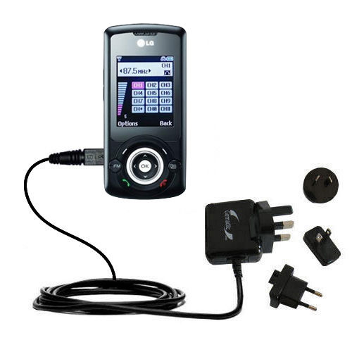 International Wall Charger compatible with the LG GB130