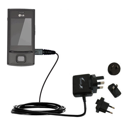 International Wall Charger compatible with the LG GD550