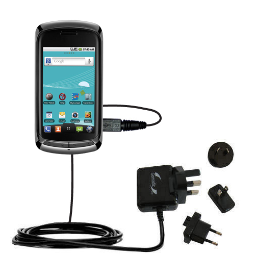 International Wall Charger compatible with the LG Genesis