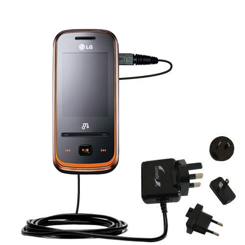 International Wall Charger compatible with the LG GM310