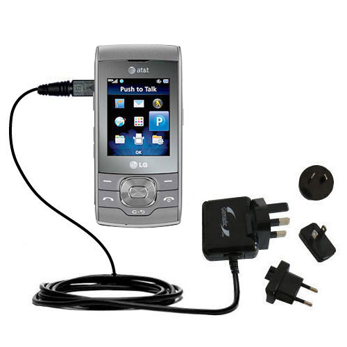 International Wall Charger compatible with the LG GU292